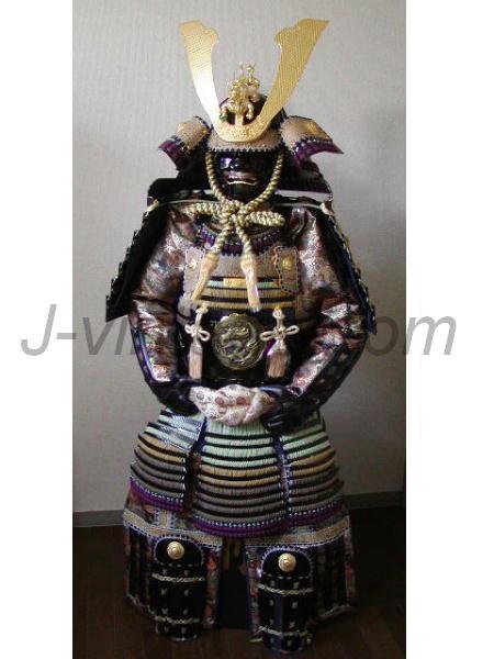 Armor Japanese Samurai Yoroi Suit Kabuto Dragon Maedate